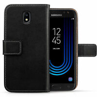 Genuine Leather Wallet Case For The Samsung Galaxy J5 2017 Best Flip Folio Cover
