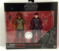 Star Wars Black Series Admiral Ackbar F.O.Officer Exclusive Toys R Us New In Box