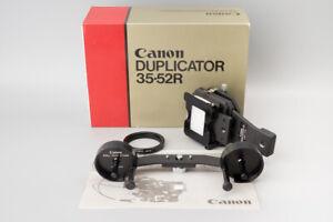 *MINT* Canon Duplicator 35-52R FD Camera 35mm Slide Roll Stage Film