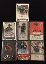 7 Card Chicago White Sox Auto/Autograph Lot- Trayce Thompson, Tyler Flowers