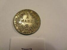 Reichsmark, 1 Mark, Reichsmünze, 1903 Buchstabe A, silber,  unbehandelt, top (7)