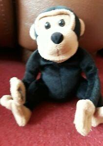 Pg Tips Monkey / chimpanzee Beanie Soft Plush Toy Teddy Stuffed Toy Cuddly