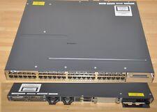 CISCO WS-C3750X-48T-L - 15.0(2)SE10a - 1x C3KX-PWR-350WAC - inkl. VAT
