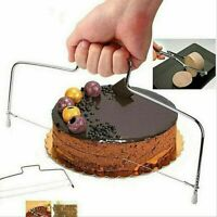 Cake Cutter Leveller Leveler Decorating Wire Slicer Cutting Decorator Tool Home