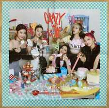 Itzy Crazy In Love Preorder Poster (Blue Version) - UK SELLER