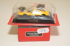 V 1:64 77 KYOSHO COLLECTION FERRARI 512BB 512 BB YELLOW MINT BOXED