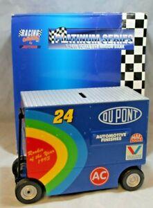 NASCAR Diecast #24 Jeff Gordon Dupont Pit Wagon Bank 1:16 Scale