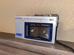 Vintage Sanyo Minature Stereo Cassette Recorder M-G4