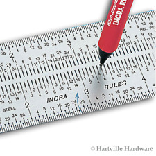 "Incra 6"" Stainless Steel Precision Marking Rule"