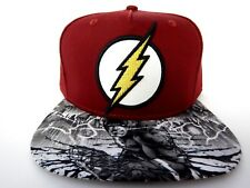 The Flash Movie Justice League DC Comics Sublimated New Snapback Hat Cap