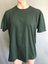 BNWOT Mens Sz XL Champion Brand Bottle Green Stretch Short Slve T Shirt Tee Top