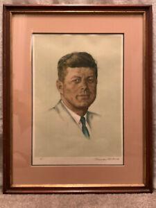 Norman Rockwell JFK Lithograph