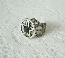 Pentacle Midi Ring, wiccan pagan wicca witch witchcraft pentagram goddess gothic