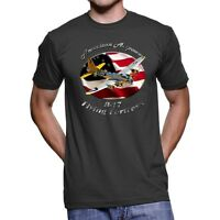 B-17 Flying Fortress American Airpower Men`s Dark T-Shirt