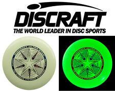 Discraft Ultra Star Ultimate Frisbee Wurfscheibe 175g night glow nachtleuchtend