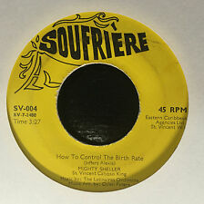 """Mighty Sheller How To Control The Birth Rate/Big Jobs 7"""" 45 VG+ Island Soul Funk"""