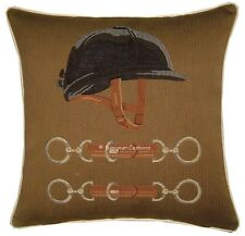 Equestrian Riding Hat Horse Riding Cushion Cover Sham