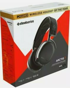 SteelSeries Arctis 7 Lossless Wireless Gaming Headset 61505 Black New