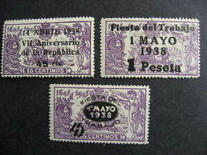 Spain Sc 586-8 MH check them out!