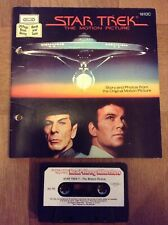 Star Trek The Motion Picture Read Along Adventure Book & Tape