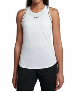 Nike Women's Court Dry Tank White 939314 Size XL NEW with tag