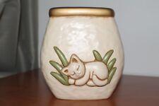Thun. Vaso con gatto medio, Altezza 18 cm.