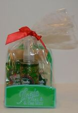 Bath & Body Works Vanilla Bean Noel 3p travel Gift Set Body Wash Mist Lotion NEW