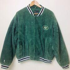 Vintage Green NY JETS Corduroy Jacket by Spotlight NFL Size M