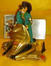 SERPENTOR (v1) + AIR CHARIOT 1986 Serie 5 - Card - G.I. Joe GI Hasbro ○ COMPLETO