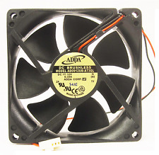 92mm 25mm New Case Fan 12V 72CFM Ball Brg PC CPU Computer Cooling 2 Wire 241*