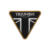 Triumph MotorBike Brand Logo Patch Iron On Patch Sew On Embroidered Patch