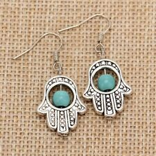 Orecchini Mano Fatima Hamsa Khamsa Earrings Cute Vintage Hipster Indie Fortuna 2