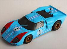 AFX MegaG+ Ford GT40 #1 Miles HO Slot Car Mega G+ 21031 Aurora Tomy