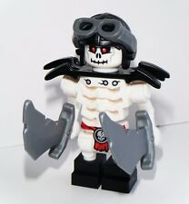 LEGO NINJAGO FRAKJAW SKYBOUND SKELETON MINIFIGURE w/ Weapons AUTHENTIC NEW 70592