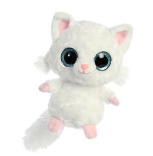 * New Aurora Yoohoo Stuffed Plush Toy Persian White Cat Kitten Soft Animal