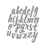26pcs English Letters Alphabet Metal Cutting Dies Embossing DIY Scrapbook Craft