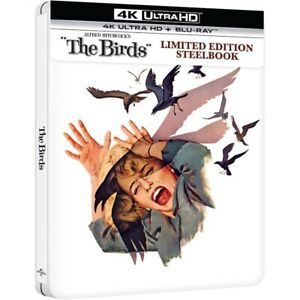 Alfred Hitchcock's The Birds 4K Ultra HD Limited Edition Steelbook New & Sealed