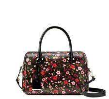 Kate Spade Black Multi Cameron Street Boho Large Lane Satchel Handbag PXRU8205