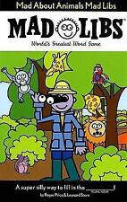 Mad About Animals Mad Libs-ExLibrary