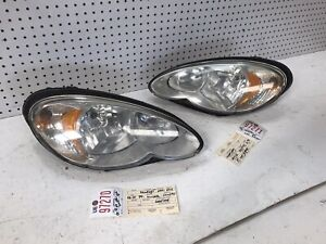 2006 2007 2008 2009 2010 CHRYSLER PT CRUISER RIGHT & LEFT HEADLIGHT PAIR OEM