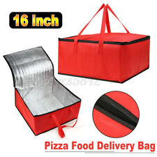 16 inch Pizza Delivery Bag Insulated Thermal Food Storage Delivery Holder Food