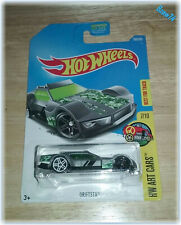 2017 Hot Wheels, Driftsta (#183/365) HW Art Cars (#7/10) Best For Track, Gray