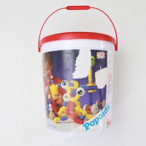 Vintage Tomy Popoids Bucket of Toys 1987