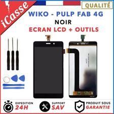 Wiko Pulp Fab 4G Noir LCD + Ecran tactile assemblés + Outils