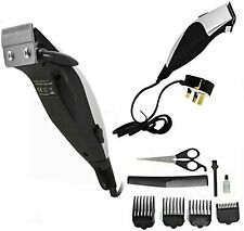 Mens Hair Cutting Clipper Grooming Set Professional Trimmer Shaver Unisex 10Pcs