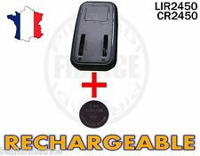 CHARGEUR + 1 PILE BOUTON CR2450 RECHARGEABLE 3.6V LIR2450 CR2450 BATTERY ACCU