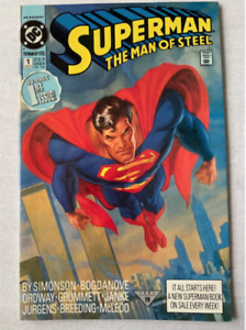 SUPERMAN: MAN OF STEEL #1 COMIC