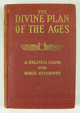 Studies in Scriptures DIVINE PLAN OF THE AGES Vol 1 Watchtower Jehovah, Russell