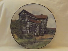 ROYAL DOULTON Translucent China CHARGER PLATE LITTLE MORETON HALL CHESHIRE 10.5""