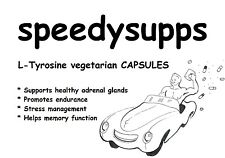 L-Tyrosine 500mg veggie CAPSULES, pill tablet mental health stress management